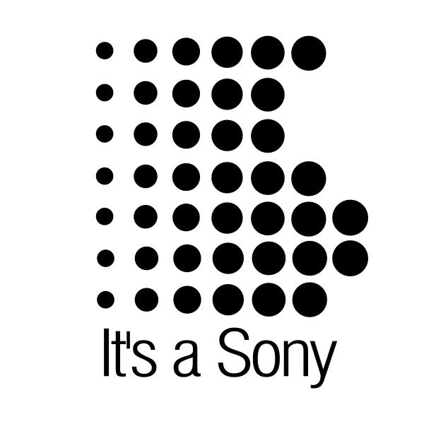 It's a Sony ,Logo , icon , SVG It's a Sony