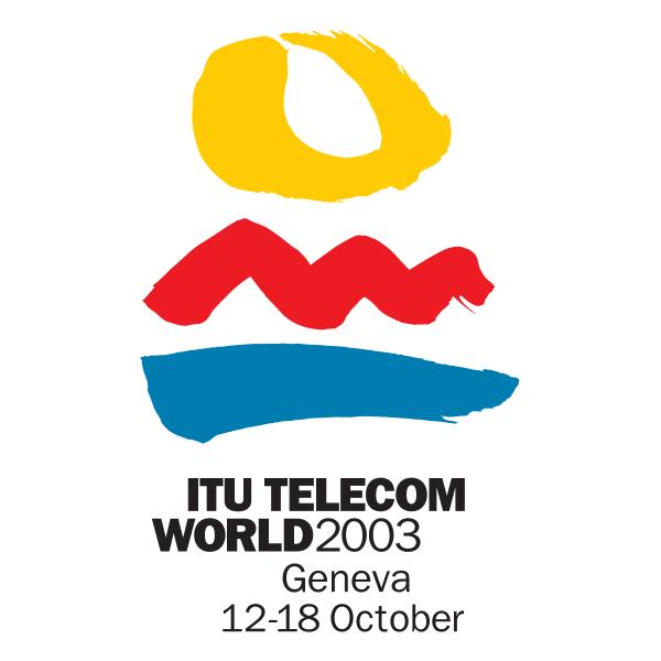 ITU Telecom World 2003 Logo ,Logo , icon , SVG ITU Telecom World 2003 Logo