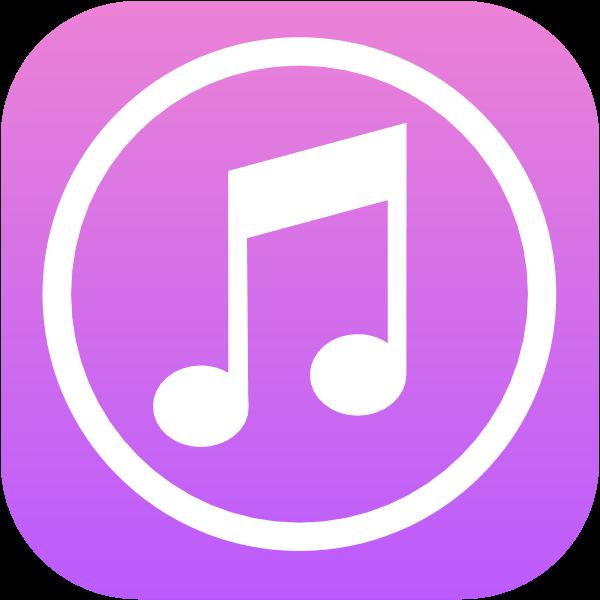 iTunes ,Logo , icon , SVG iTunes