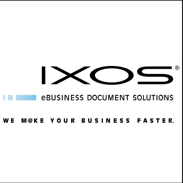 IXOS Software Logo ,Logo , icon , SVG IXOS Software Logo