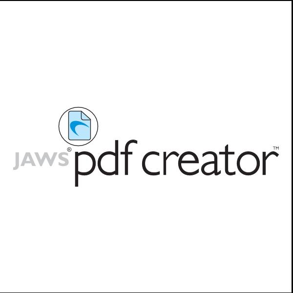 Jaws PDF Creator Logo ,Logo , icon , SVG Jaws PDF Creator Logo