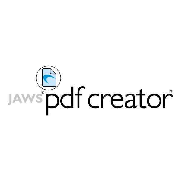 Jaws PDF Creator ,Logo , icon , SVG Jaws PDF Creator
