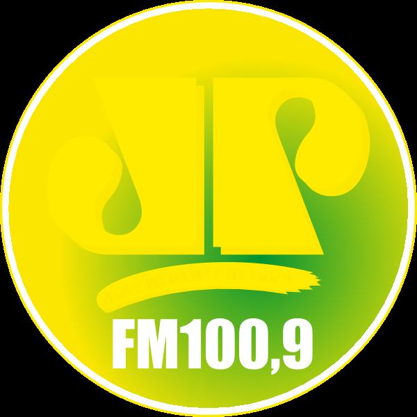 Jovem Pan FM 100.9 São Paulo Logo ,Logo , icon , SVG Jovem Pan FM 100.9 São Paulo Logo