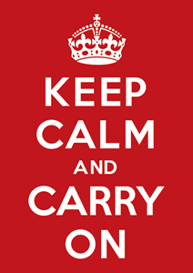 Keep Calm and Carry On Logo ,Logo , icon , SVG Keep Calm and Carry On Logo