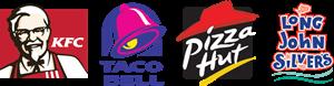 KFC – Taco Bell – Pizza Hut – Long John Silver's Logo ,Logo , icon , SVG KFC – Taco Bell – Pizza Hut – Long John Silver's Logo
