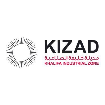 شعار مدينة خليفة الصناعية kizad ,Logo , icon , SVG شعار مدينة خليفة الصناعية kizad