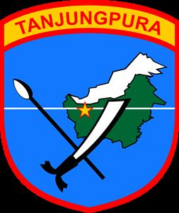 KODAM XII Tanjungpura Logo ,Logo , icon , SVG KODAM XII Tanjungpura Logo