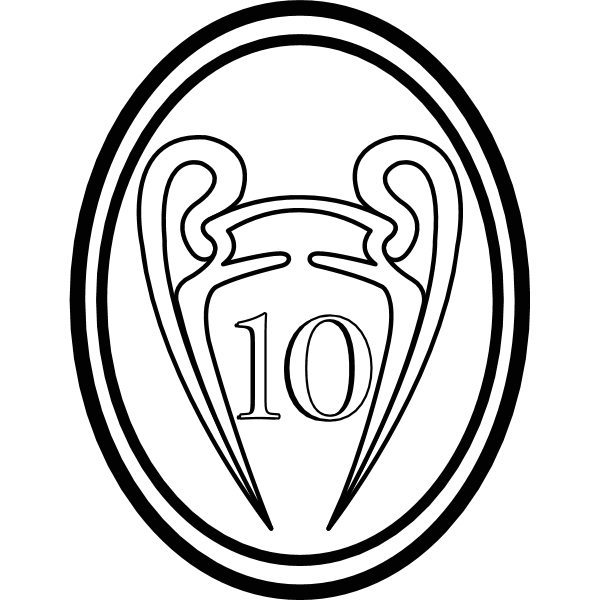 La Decima Real Madrid Logo ,Logo , icon , SVG La Decima Real Madrid Logo