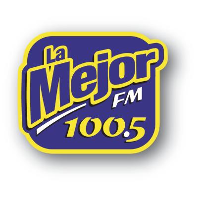 La Mejor 100.5 fm Logo ,Logo , icon , SVG La Mejor 100.5 fm Logo