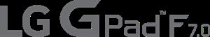 LG G Pad F 7.0 Logo ,Logo , icon , SVG LG G Pad F 7.0 Logo