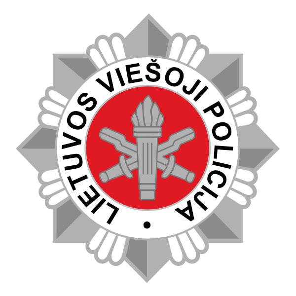 Lietuvos Viesoji Policija Logo ,Logo , icon , SVG Lietuvos Viesoji Policija Logo