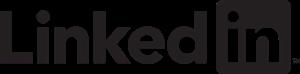 LinkedIn Black Logo