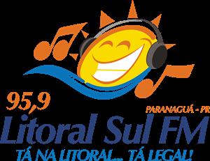 Litoral Sul FM 95,9 Logo ,Logo , icon , SVG Litoral Sul FM 95,9 Logo