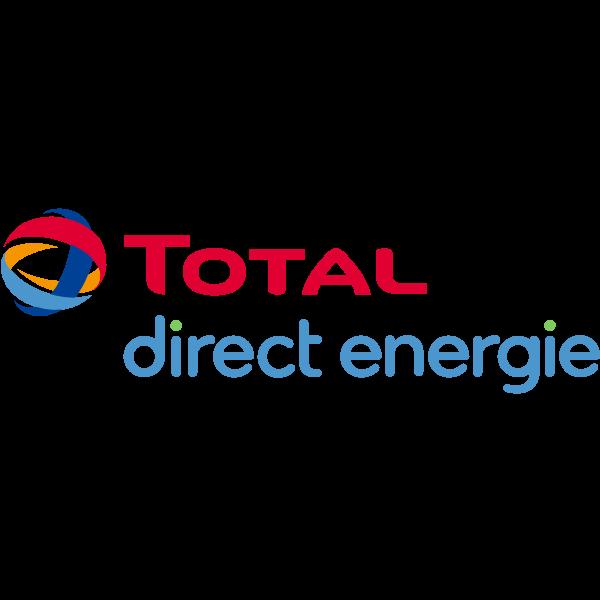 Logo Total Direct Energie ,Logo , icon , SVG Logo Total Direct Energie