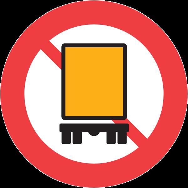 LORRY TRAFFIC FORBIDDEN SIGN Logo ,Logo , icon , SVG LORRY TRAFFIC FORBIDDEN SIGN Logo