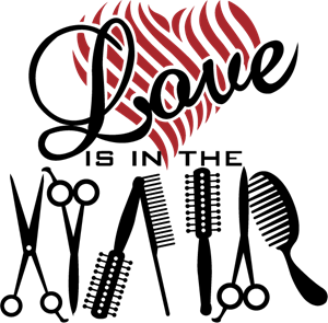 Love is in the Hair Logo ,Logo , icon , SVG Love is in the Hair Logo