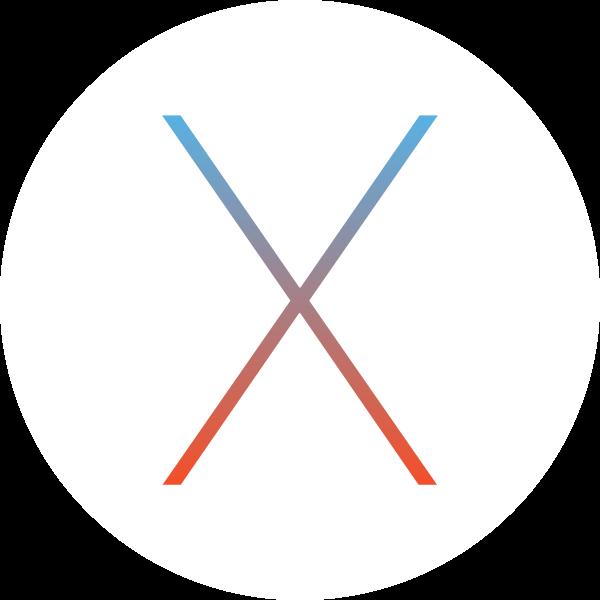 Mac OS X ,Logo , icon , SVG Mac OS X