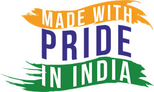 MADE WITH PRIDE IN INDIA Logo ,Logo , icon , SVG MADE WITH PRIDE IN INDIA Logo