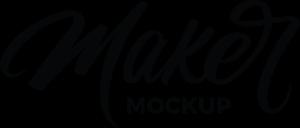 Maker Mockup Logo ,Logo , icon , SVG Maker Mockup Logo