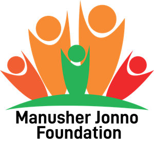 Manusher Jonno foundation AI Vector Logo ,Logo , icon , SVG Manusher Jonno foundation AI Vector Logo