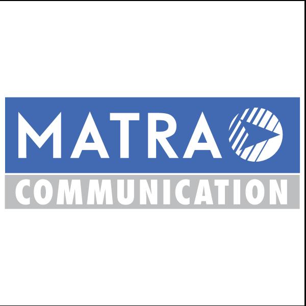 Matra Communication Logo ,Logo , icon , SVG Matra Communication Logo
