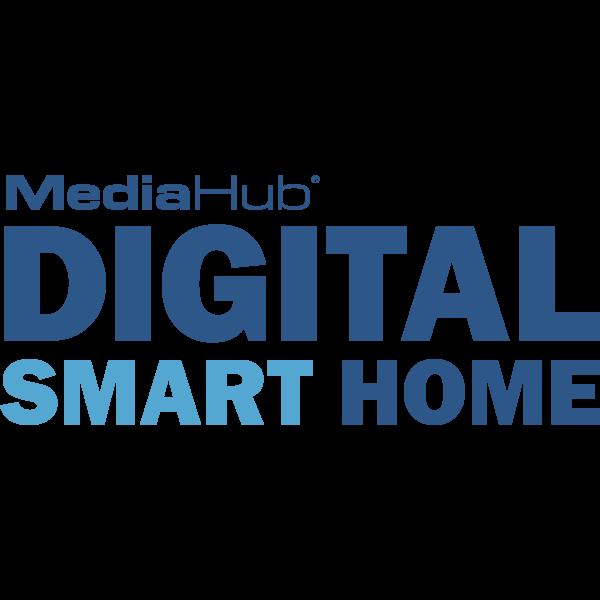 MediaHub Digital Smart Home Logo ,Logo , icon , SVG MediaHub Digital Smart Home Logo