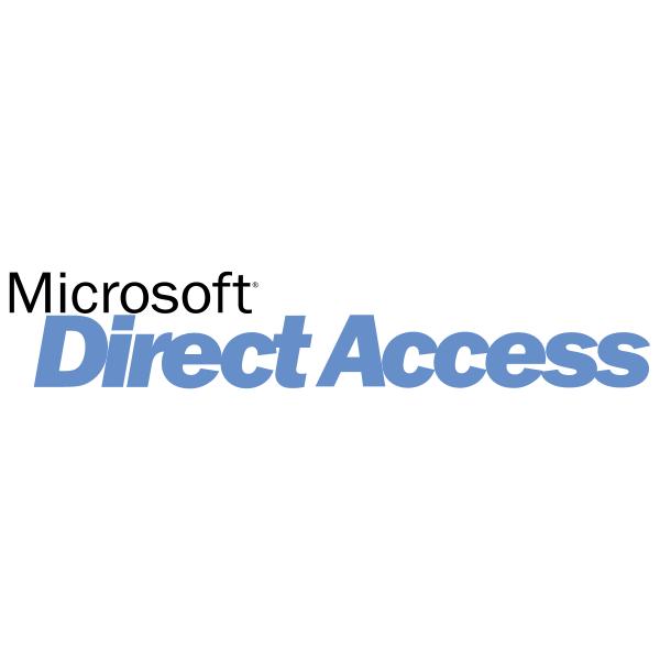 Microsoft Direct Access ,Logo , icon , SVG Microsoft Direct Access
