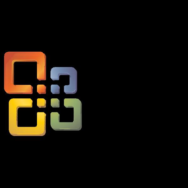 Microsoft Office 2004 Logo ,Logo , icon , SVG Microsoft Office 2004 Logo