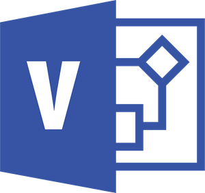 Microsoft Visio Logo ,Logo , icon , SVG Microsoft Visio Logo