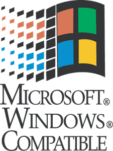 Microsoft Windows Compatible Logo ,Logo , icon , SVG Microsoft Windows Compatible Logo