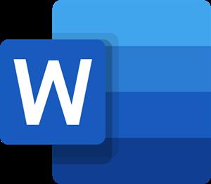Microsoft Word Logo ,Logo , icon , SVG Microsoft Word Logo