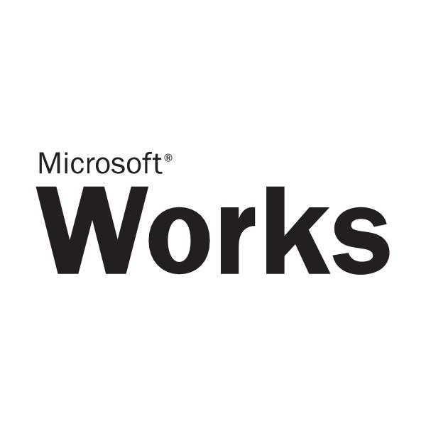 Microsoft Works Logo ,Logo , icon , SVG Microsoft Works Logo