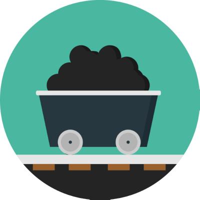 mine ,Logo , icon , SVG mine
