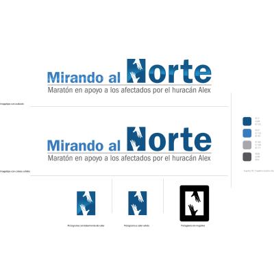 Mirando al Norte Logo ,Logo , icon , SVG Mirando al Norte Logo
