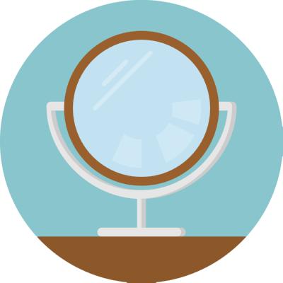 mirror ,Logo , icon , SVG mirror