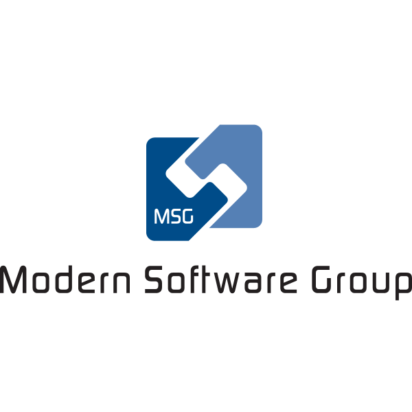 Modern Software Group Logo ,Logo , icon , SVG Modern Software Group Logo