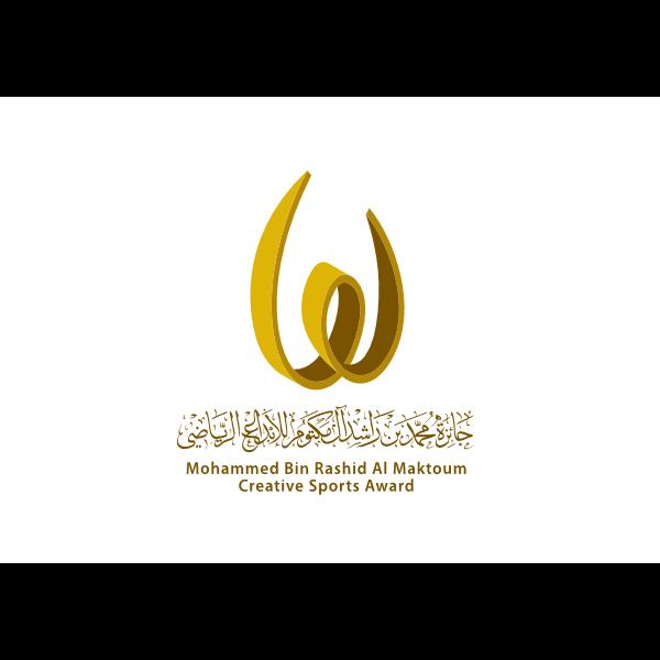 شعار حارة محمد بن راشد المكتوم للابداع الرياضي ,Logo , icon , SVG شعار حارة محمد بن راشد المكتوم للابداع الرياضي