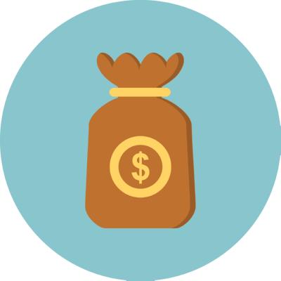money bag ,Logo , icon , SVG money bag