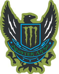 monster Army Logo ,Logo , icon , SVG monster Army Logo