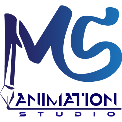 ms animation studio ,Logo , icon , SVG ms animation studio