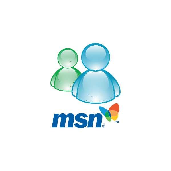 MSN Messenger Logo ,Logo , icon , SVG MSN Messenger Logo