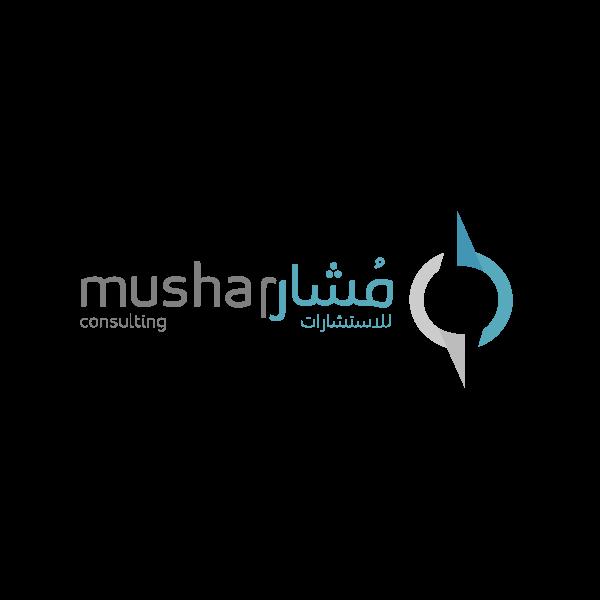 شعار Mushar مشار للاستشارات ,Logo , icon , SVG شعار Mushar مشار للاستشارات