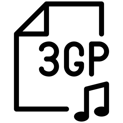 3gp ,Logo , icon , SVG 3gp