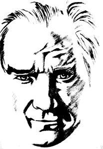 Mustafa Kemal Atatürk Silüet Logo ,Logo , icon , SVG Mustafa Kemal Atatürk Silüet Logo