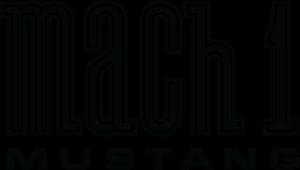 Mustang Mach 1 Logo ,Logo , icon , SVG Mustang Mach 1 Logo