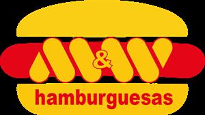 M&W HAMBURGUESAS Logo ,Logo , icon , SVG M&W HAMBURGUESAS Logo