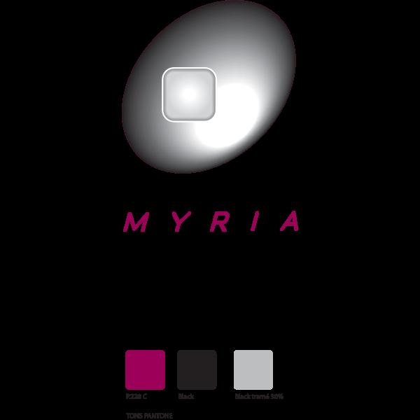 Myria Logo ,Logo , icon , SVG Myria Logo