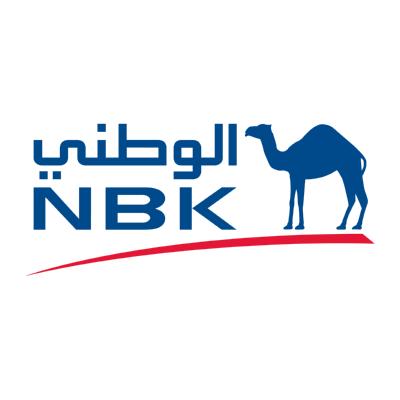 شعار national bank of kuwait nbk الوطني