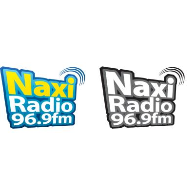 Naxi radio 96,9MHz Logo ,Logo , icon , SVG Naxi radio 96,9MHz Logo