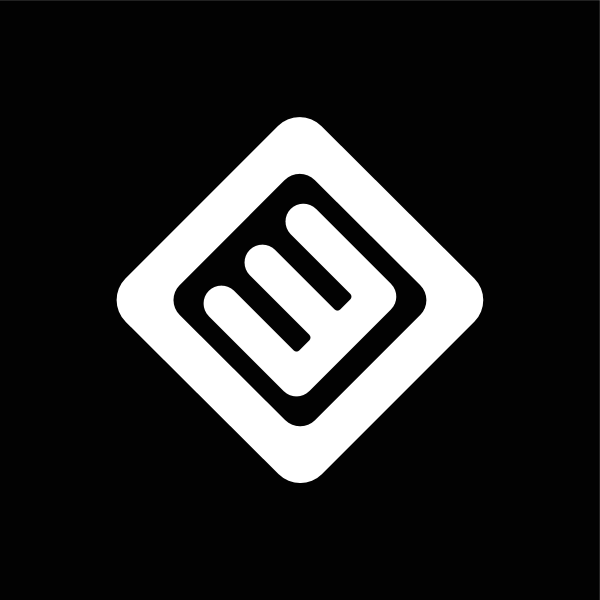 Nederland 3 black&white negative Logo ,Logo , icon , SVG Nederland 3 black&white negative Logo